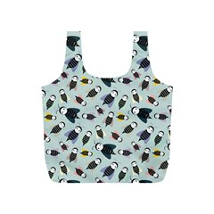 Bees Animal Pattern Full Print Recycle Bags (s)