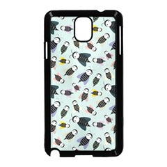 Bees Animal Pattern Samsung Galaxy Note 3 Neo Hardshell Case (Black)