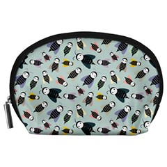 Bees Animal Pattern Accessory Pouches (Large)