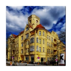 Berlin Friednau Germany Building Tile Coasters