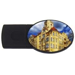 Berlin Friednau Germany Building USB Flash Drive Oval (4 GB)