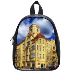 Berlin Friednau Germany Building School Bags (Small)