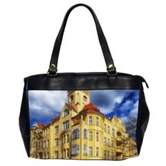 Berlin Friednau Germany Building Office Handbags (2 Sides)