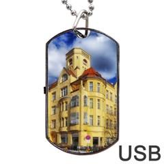 Berlin Friednau Germany Building Dog Tag USB Flash (Two Sides)