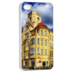 Berlin Friednau Germany Building Apple iPhone 4/4s Seamless Case (White)