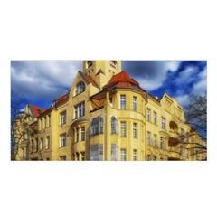 Berlin Friednau Germany Building Satin Shawl