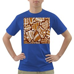 Biscuit Brown Christmas Cookie Dark T Shirt