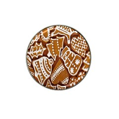 Biscuit Brown Christmas Cookie Hat Clip Ball Marker (10 pack)