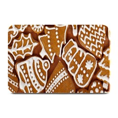 Biscuit Brown Christmas Cookie Plate Mats