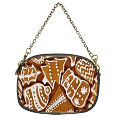 Biscuit Brown Christmas Cookie Chain Purses (One Side)