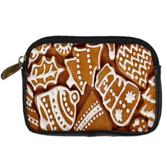 Biscuit Brown Christmas Cookie Digital Camera Cases