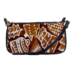 Biscuit Brown Christmas Cookie Shoulder Clutch Bags