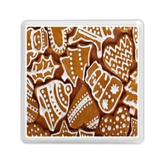 Biscuit Brown Christmas Cookie Memory Card Reader (Square)