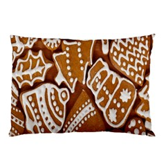 Biscuit Brown Christmas Cookie Pillow Case (Two Sides)