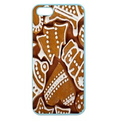 Biscuit Brown Christmas Cookie Apple Seamless iPhone 5 Case (Color)