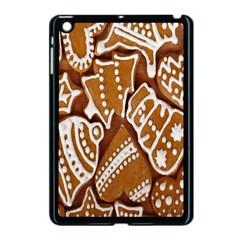 Biscuit Brown Christmas Cookie Apple iPad Mini Case (Black)