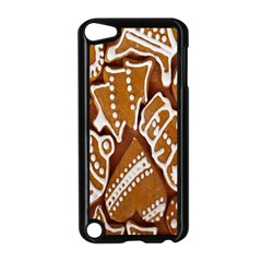 Biscuit Brown Christmas Cookie Apple Ipod Touch 5 Case (black)