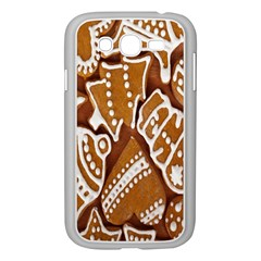 Biscuit Brown Christmas Cookie Samsung Galaxy Grand Duos I9082 Case (white)