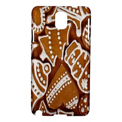 Biscuit Brown Christmas Cookie Samsung Galaxy Note 3 N9005 Hardshell Case