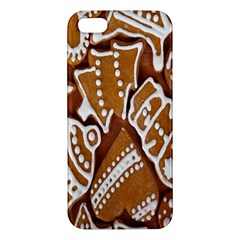 Biscuit Brown Christmas Cookie iPhone 5S/ SE Premium Hardshell Case
