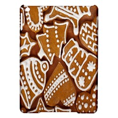 Biscuit Brown Christmas Cookie iPad Air Hardshell Cases