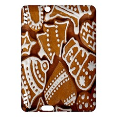 Biscuit Brown Christmas Cookie Kindle Fire HDX Hardshell Case