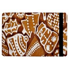 Biscuit Brown Christmas Cookie iPad Air Flip