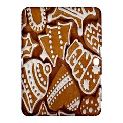 Biscuit Brown Christmas Cookie Samsung Galaxy Tab 4 (10.1 ) Hardshell Case