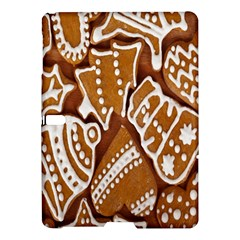 Biscuit Brown Christmas Cookie Samsung Galaxy Tab S (10 5 ) Hardshell Case