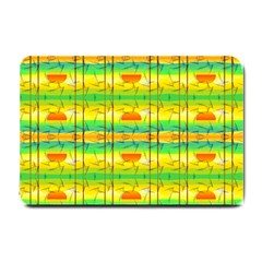 Birds Beach Sun Abstract Pattern Small Doormat