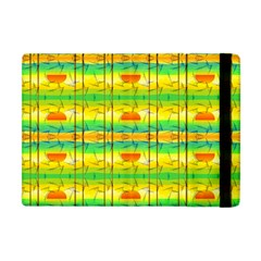 Birds Beach Sun Abstract Pattern Apple iPad Mini Flip Case