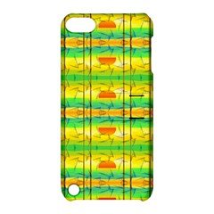 Birds Beach Sun Abstract Pattern Apple iPod Touch 5 Hardshell Case with Stand