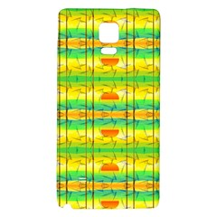 Birds Beach Sun Abstract Pattern Galaxy Note 4 Back Case