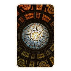 Black And Borwn Stained Glass Dome Roof Memory Card Reader