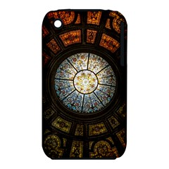 Black And Borwn Stained Glass Dome Roof iPhone 3S/3GS