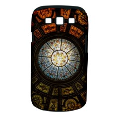 Black And Borwn Stained Glass Dome Roof Samsung Galaxy S Iii Classic Hardshell Case (pc+silicone)