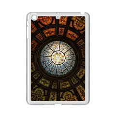 Black And Borwn Stained Glass Dome Roof Ipad Mini 2 Enamel Coated Cases