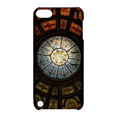 Black And Borwn Stained Glass Dome Roof Apple iPod Touch 5 Hardshell Case with Stand