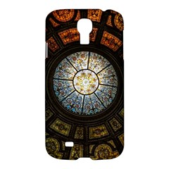 Black And Borwn Stained Glass Dome Roof Samsung Galaxy S4 I9500/I9505 Hardshell Case