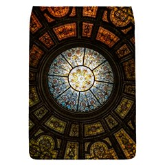 Black And Borwn Stained Glass Dome Roof Flap Covers (s)