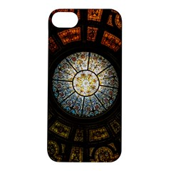 Black And Borwn Stained Glass Dome Roof Apple Iphone 5s/ Se Hardshell Case