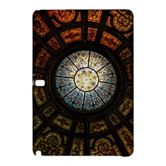 Black And Borwn Stained Glass Dome Roof Samsung Galaxy Tab Pro 12.2 Hardshell Case