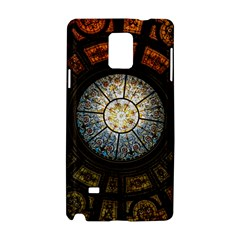 Black And Borwn Stained Glass Dome Roof Samsung Galaxy Note 4 Hardshell Case