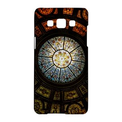 Black And Borwn Stained Glass Dome Roof Samsung Galaxy A5 Hardshell Case