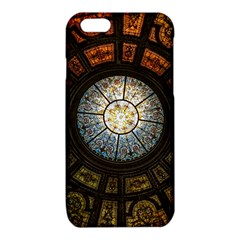 Black And Borwn Stained Glass Dome Roof iPhone 6/6S TPU Case