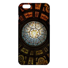 Black And Borwn Stained Glass Dome Roof iPhone 6 Plus/6S Plus TPU Case