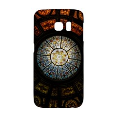 Black And Borwn Stained Glass Dome Roof Galaxy S6 Edge