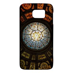 Black And Borwn Stained Glass Dome Roof Galaxy S6