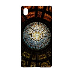 Black And Borwn Stained Glass Dome Roof Sony Xperia Z3+