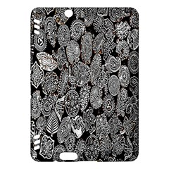 Black And White Art Pattern Historical Kindle Fire Hdx Hardshell Case